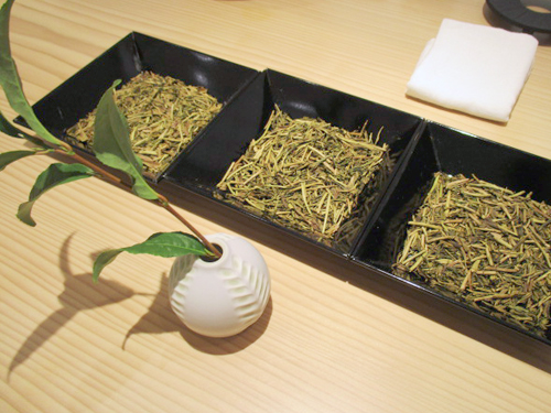 3種類のお茶